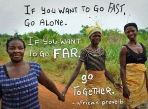 together proverb