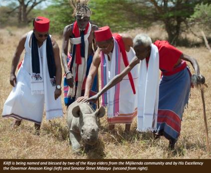 Kilifi ceremony