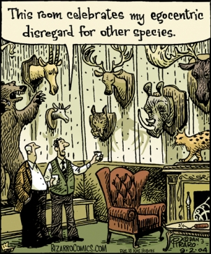disregard for species cartoon