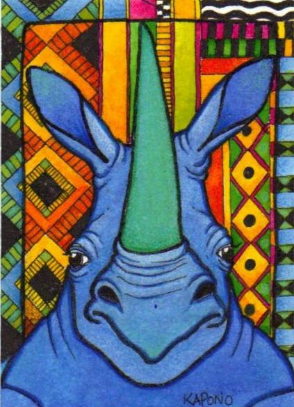 african_blue_rhino_aceo_by_mandarinmoon-d1hoorg