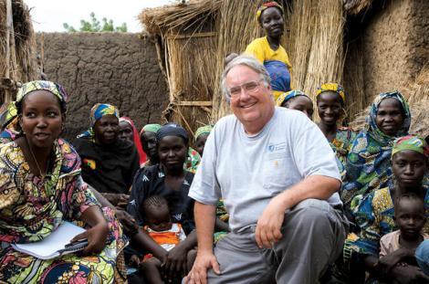 Howard Buffet in Cameroon