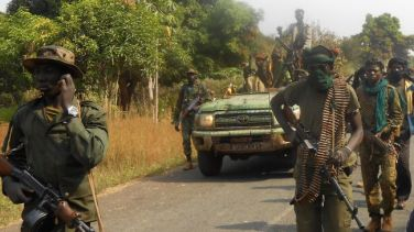 seleka rebels in CAR