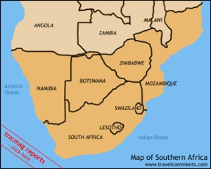south africa and surrounding 2