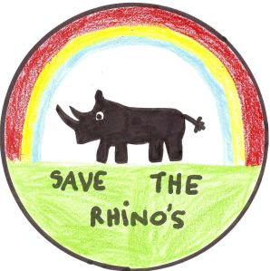 Alyssas rhino drawing