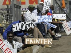 SA unemployment