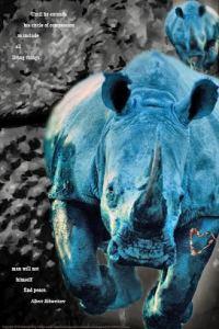 Metalic rhino