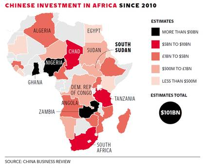 chinese investment in africa 2010
