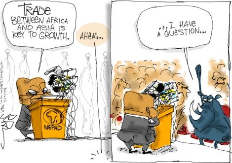 horn trade cartoon
