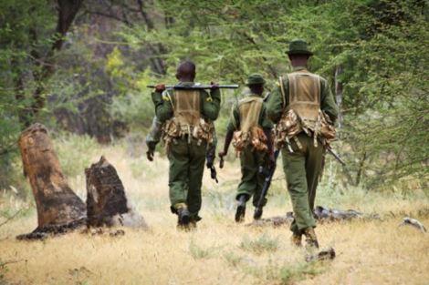 rangers behind