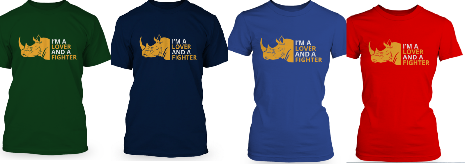 tshirts fight for rhinos. Black Bedroom Furniture Sets. Home Design Ideas