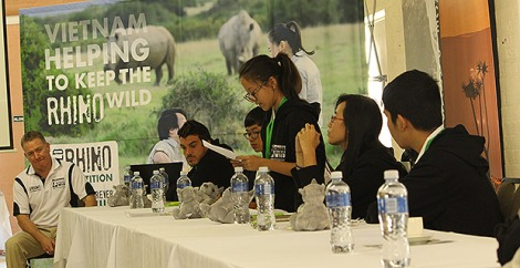 wildlife ambassadors for rhinos